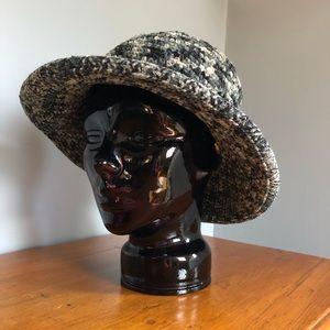 Vintage Woven Chenille Hat
